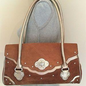 Michael Kors Limited Edition Western Suede Handbag